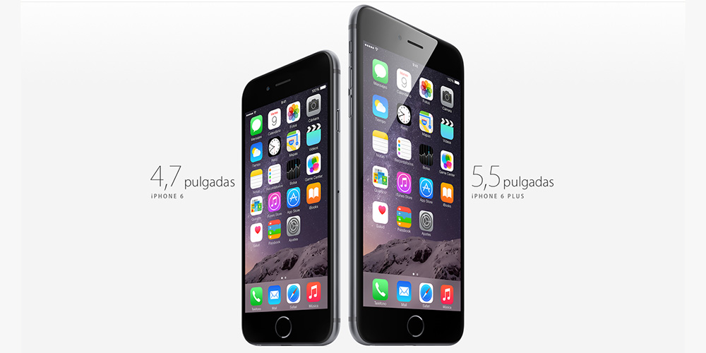 Nuevos iPhone 6 y iPhone 6 Plus