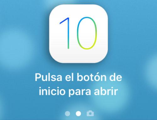Como desactivar la opción «Pulsa el botón de inicio para abrir» del nuevo IOS 10
