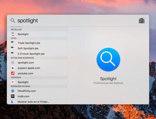 Saca partido a Spotlight en macOS con estos atajos de teclado que te facilitaran su uso